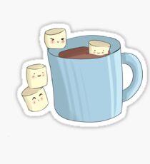 Cocoa and Marshmallows Sticker