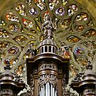 Auch Cathedral pipe organ tower by Jenny Setchell