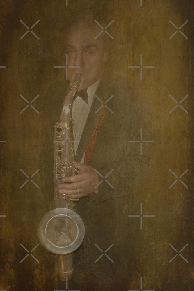 Sax Man by Catherine Hamilton-Veal  ©