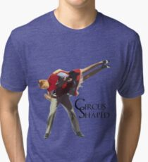 Circus Shaped Tri-blend T-Shirt