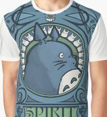 Forest Spirit Nouveau Graphic T-Shirt