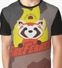 Future Industries Fire Ferrets Graphic T-Shirt