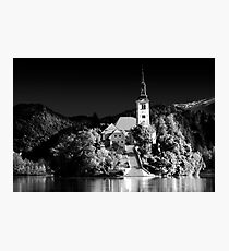 Lake Bled, Slovania Photographic Print