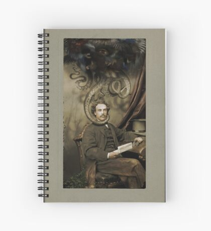 Industrial Romance Spiral Notebook