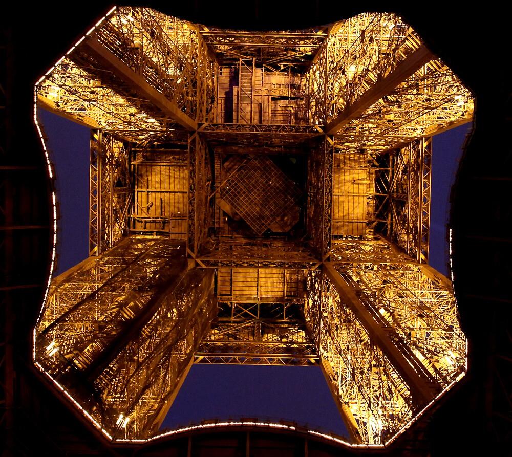 The Eifell Tower.  by adarchphotog