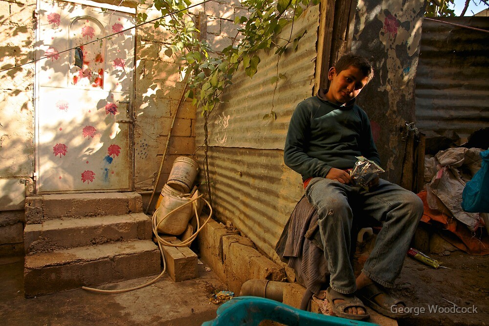 Palestinian Boy  by George Woodcock