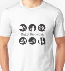 Enjoy Barcelona by chapateao T-Shirt