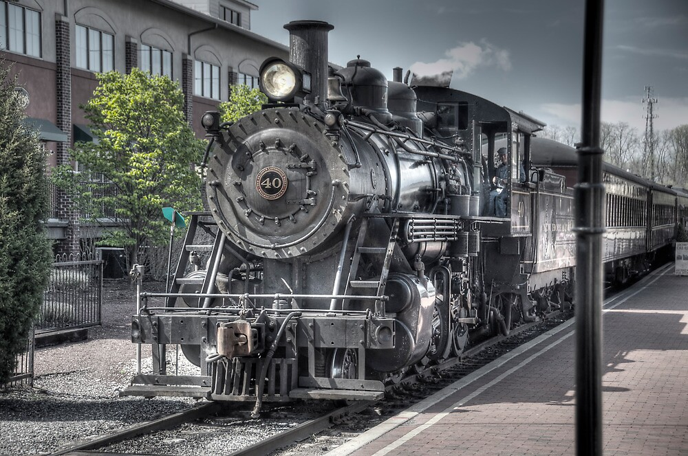 Old Number 40 by Anthony L Sacco