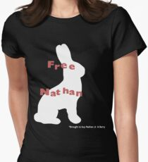 Free Nathan Women's Fitted T-Shirt