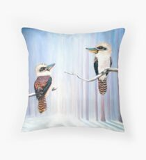 Kookaburra Connection  Throw Pillow