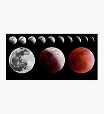 Total Lunar Eclipse, December 2011 Photographic Print