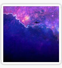 Space Flight Sticker