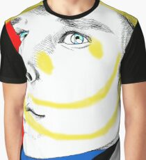 The Smiley Detective Graphic T-Shirt