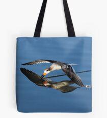 Immature Black Skimmer Skimming For Fish Tote Bag