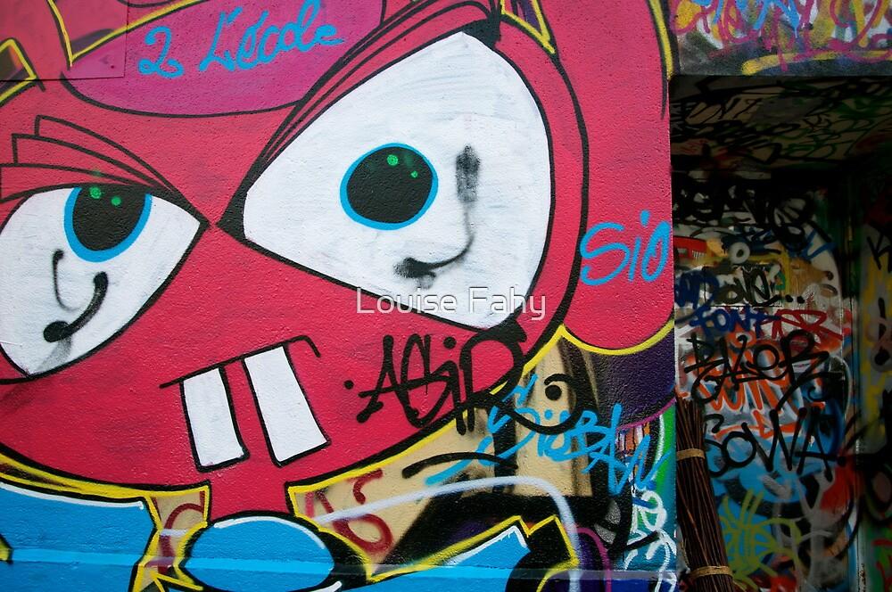 Paris Graffiti 2011 X by Louise Fahy