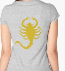 DRIVE SCORPION (GOLD) Women's Fitted Scoop T-Shirt