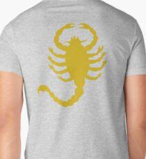 DRIVE SCORPION (GOLD) Mens V-Neck T-Shirt
