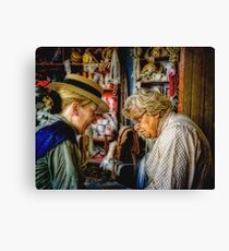 The Old Wives Tale Canvas Print