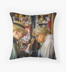 The Old Wives Tale Throw Pillow