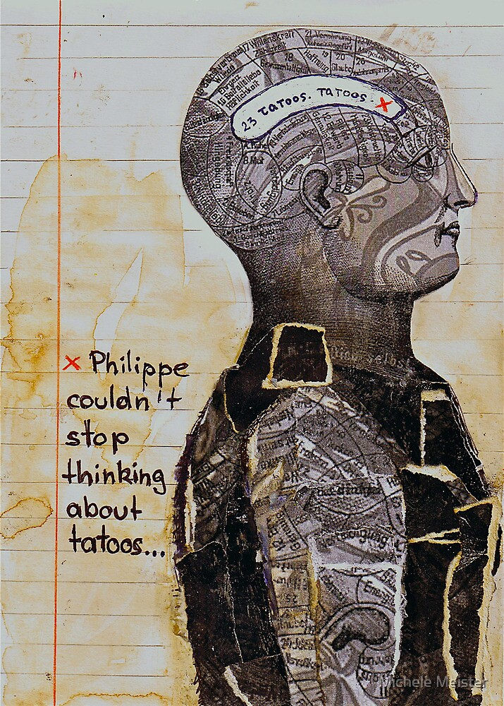 Philipp couldn't stop thinking about tattoo's by Michele Meister