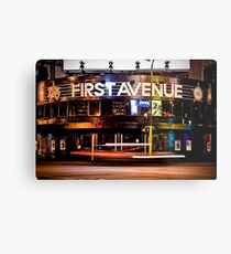 First Avenue Metal Print