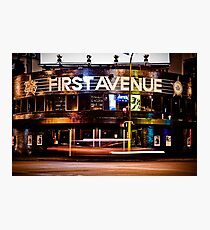 First Avenue Photographic Print