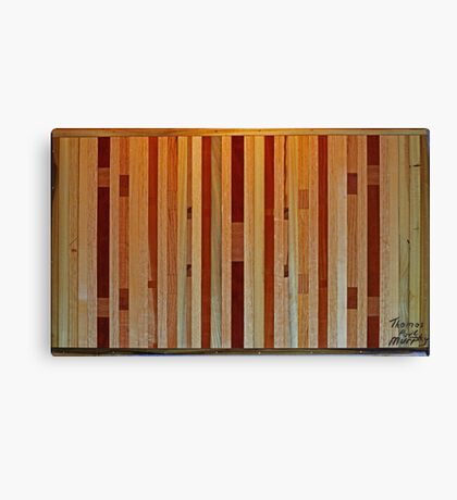 Inlaid X Wing Coffee Table  Canvas Print