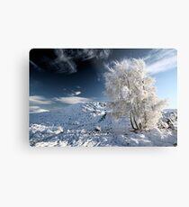 Glencoe winter landscape Metal Print