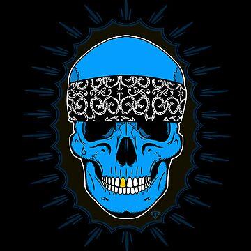 Bandanna Skull by tioem