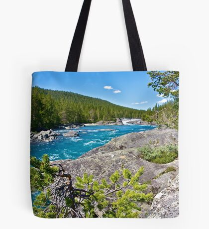 Like a dream river . Oppland . Norway . by Brown Sugar . Views (311)... Fabulous Norway !!! Tote Bag