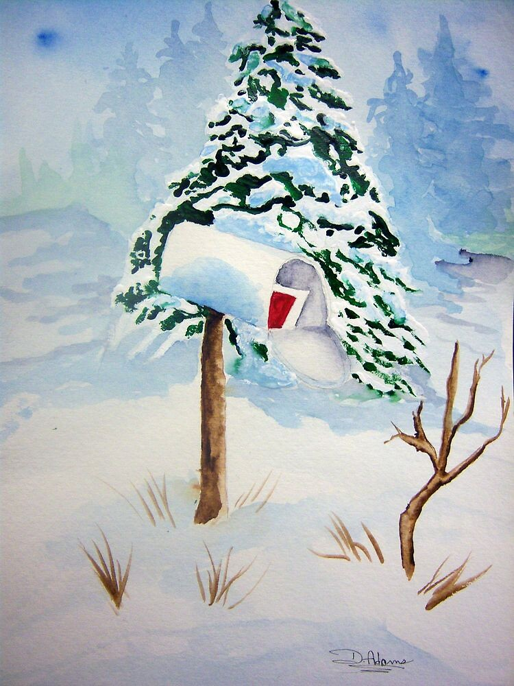 Christmas Mail by Mitch Adams
