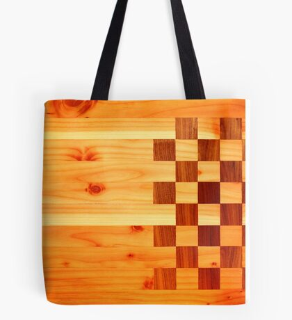 Indian Turkey Chess Table Landscape Tote Bag