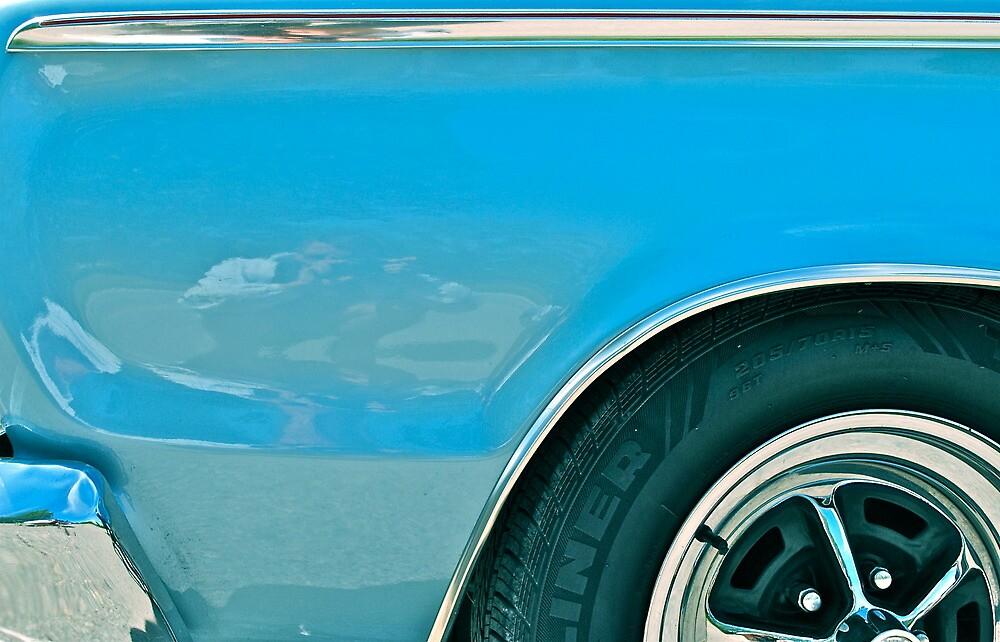 Blue Plymouth  by richard  webb