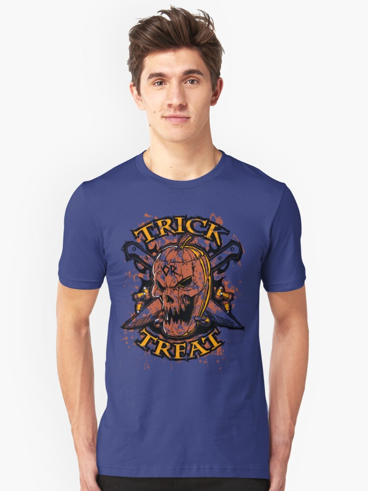 Trick or Treat Unisex T-Shirt Front