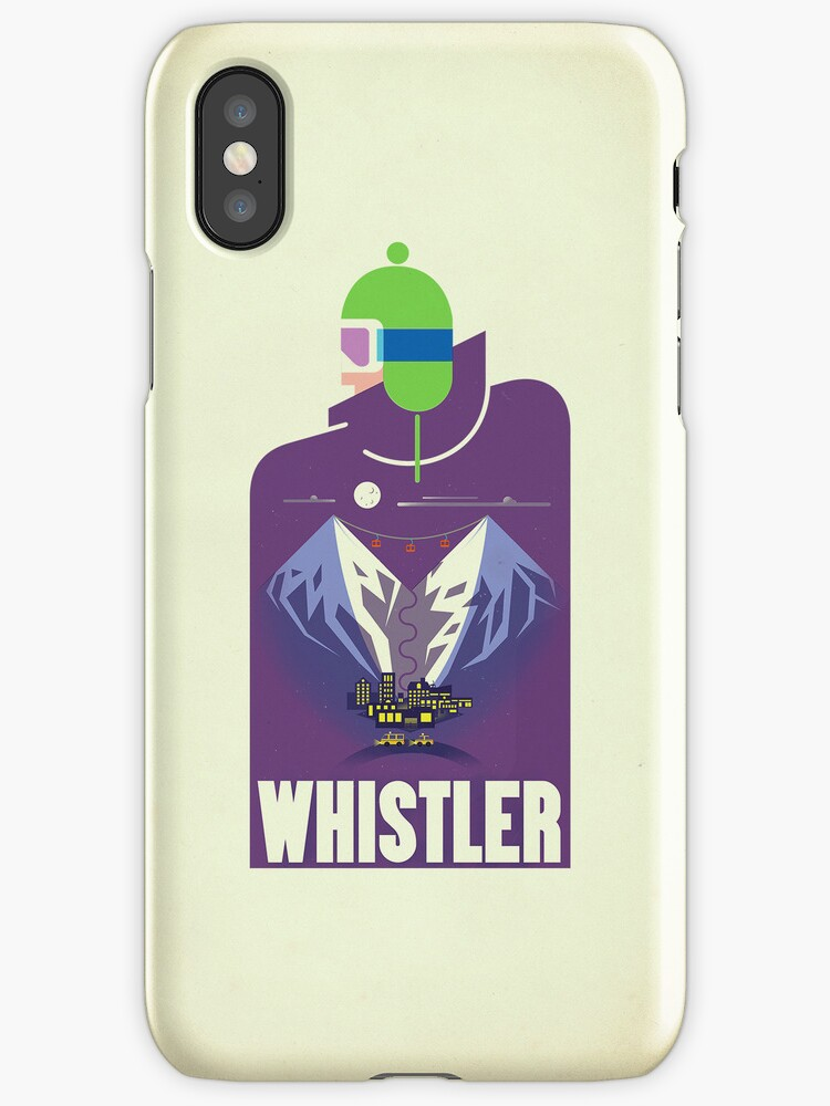 """""""Full Moon"""" Whistler Village iPhone case by James Tuer"""