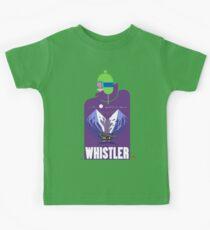 """Full Moon"" Whistler Village Shirt Kids Tee"