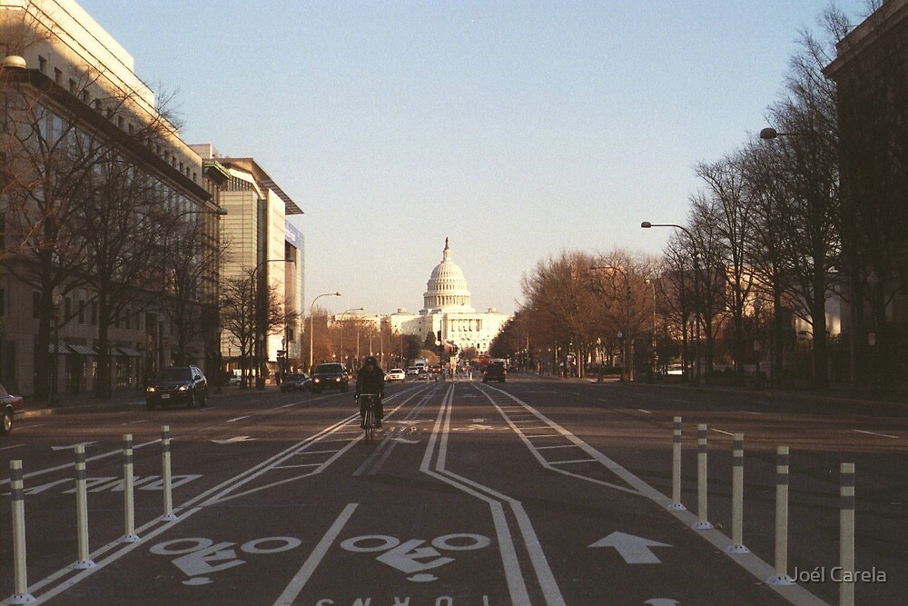 A view of the Capitol by Joél Carela