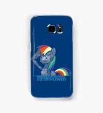 Brony Typography Samsung Galaxy Case/Skin