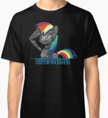 Brony Typography Classic T-Shirt