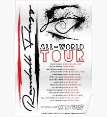 Randall Flagg World Tour- Contemporary/Jazz/Prog Rock Poster