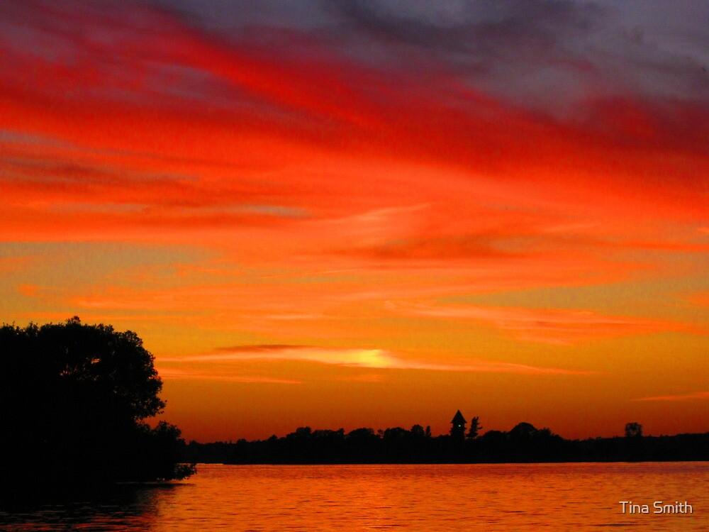 Warm Sunset by tina smith