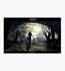 Moon 4 Photographic Print