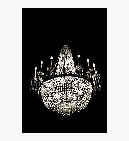 Chandelier in Space Photographic Print