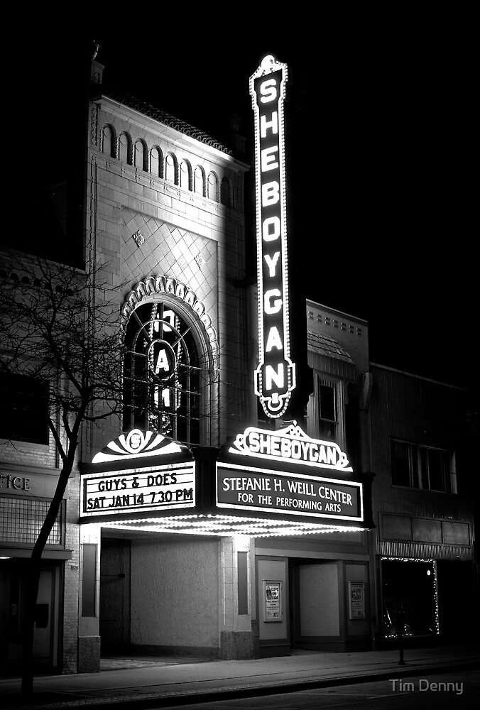 Midnight At The Movies by Tim Denny