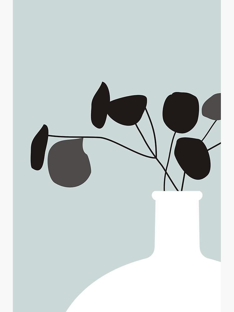 White Vase by nileshkikuchise
