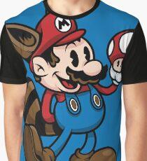 Vintage Plumber Color Graphic T-Shirt