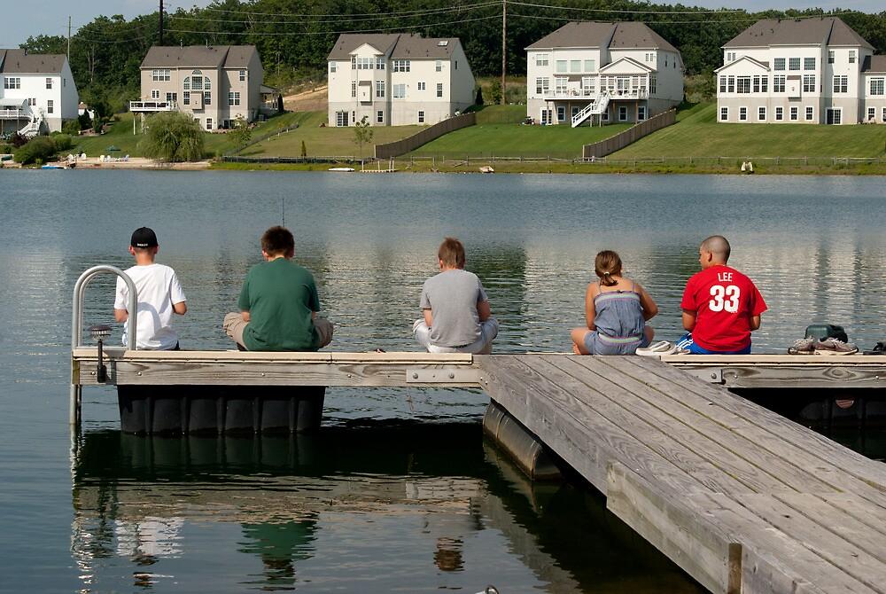 Summer Fishing by Tim-1138