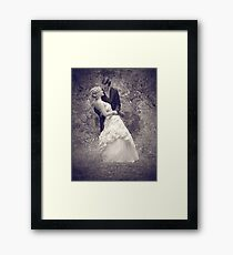 Wedding Sample :)  Framed Print