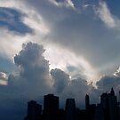 New York Sky by Magaly Burton