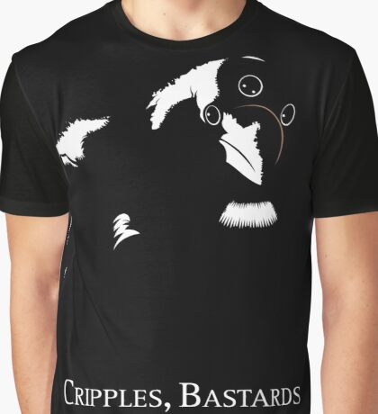 Cripples, Bastards, and Broken Things Graphic T-Shirt